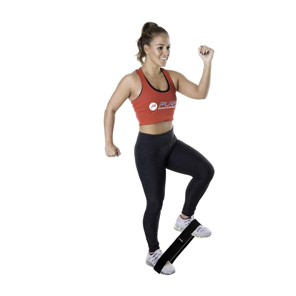 Posilovací odporový pás/guma Pure2Improve Varianta: Snadná