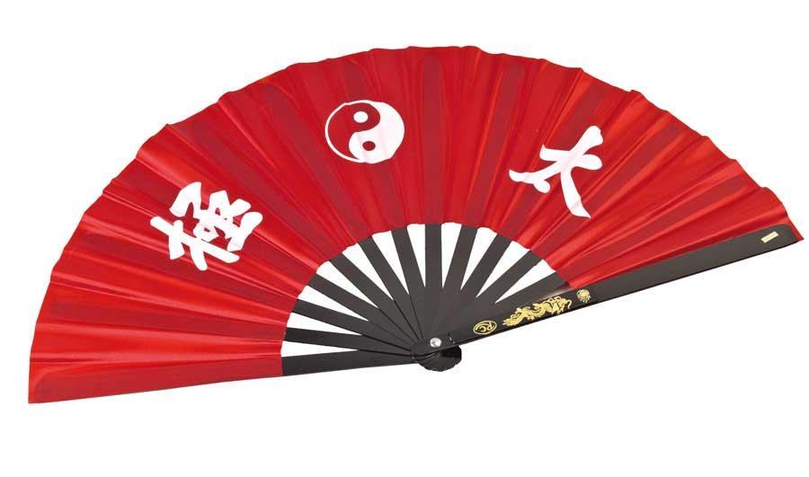 JU-SPORTS VĚJÍŘ PRO TAI CHI, KUNG FU - 215g Barva: Červená