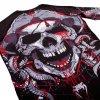 VENUM Pirate 3.0 Black/Red Rash Guard dlouhý rukáv