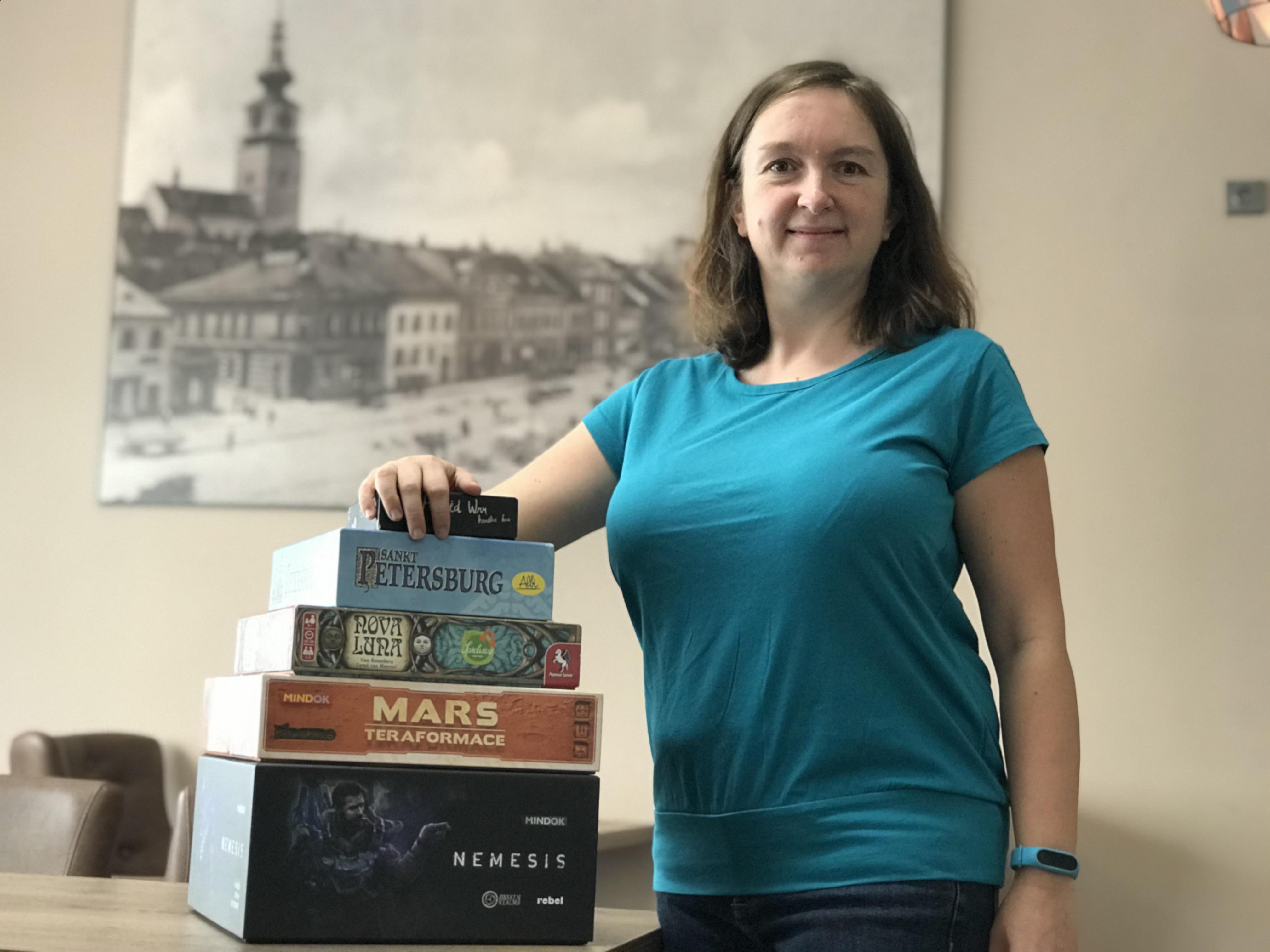 Radka Mužíková - nenápadná ikona deskoherního světa