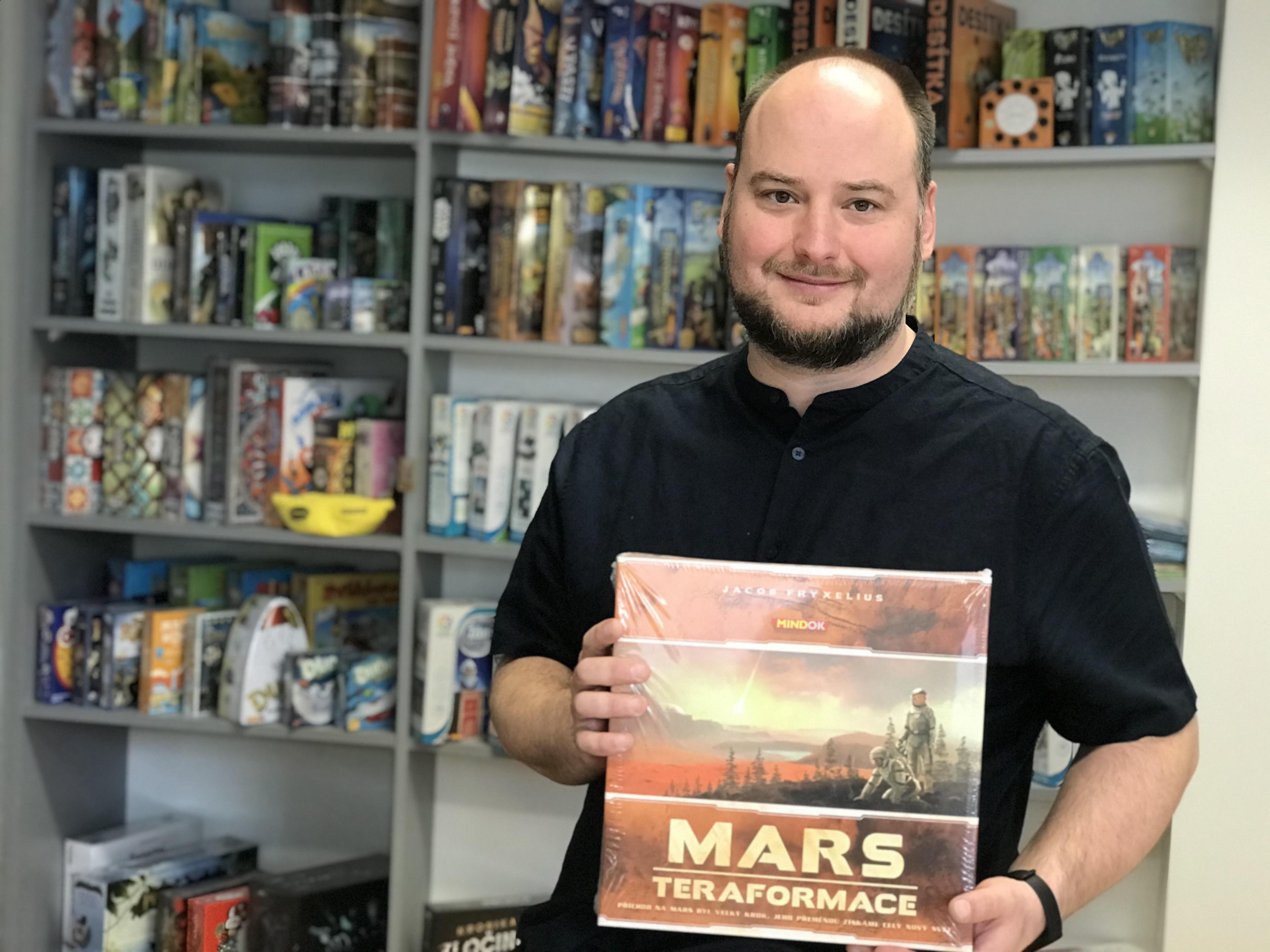 Pavel Prachař z nakladatelství Mindok: služebně otestuji až 300 her ročně