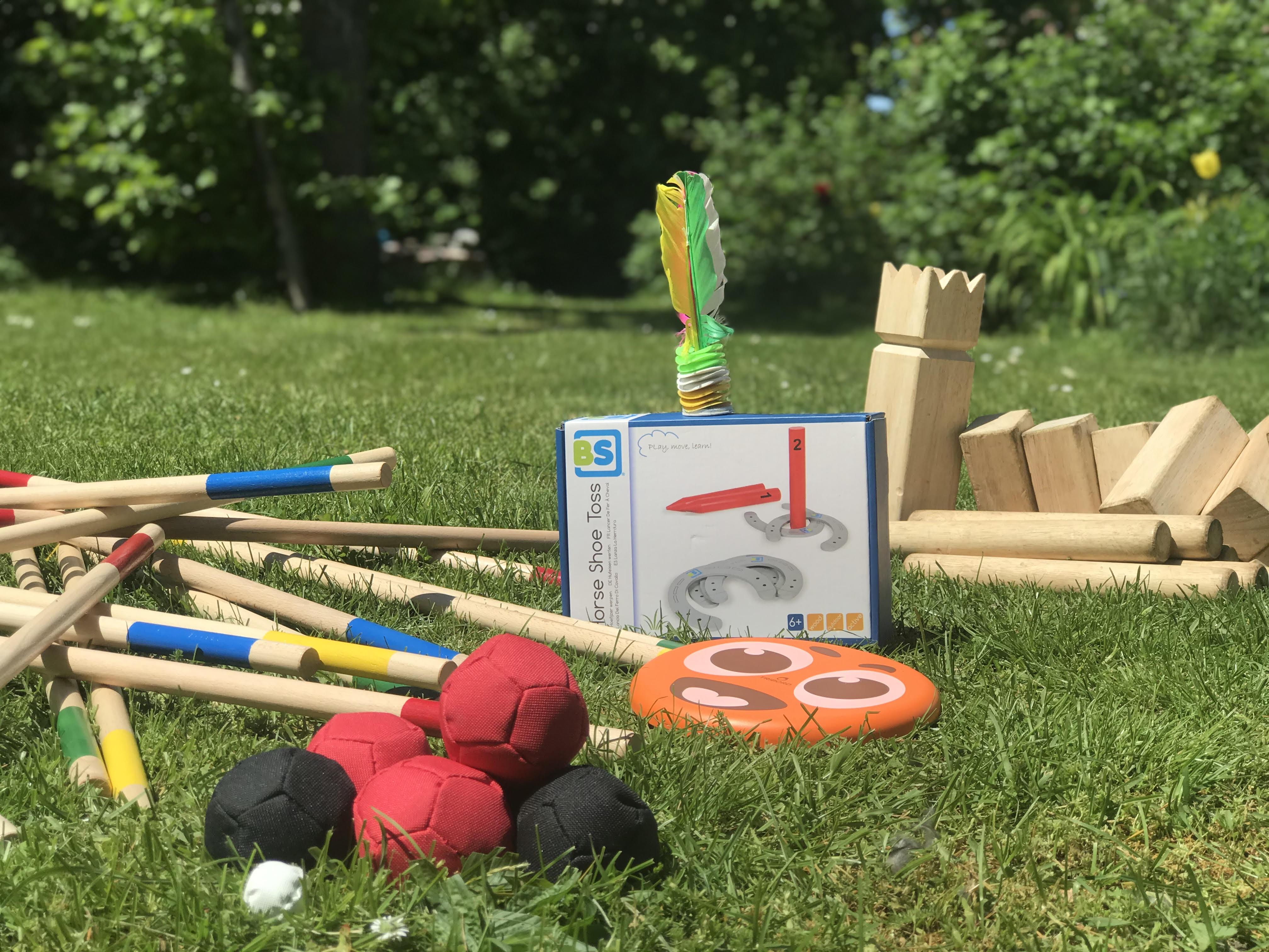 Naše výbava zahradních her