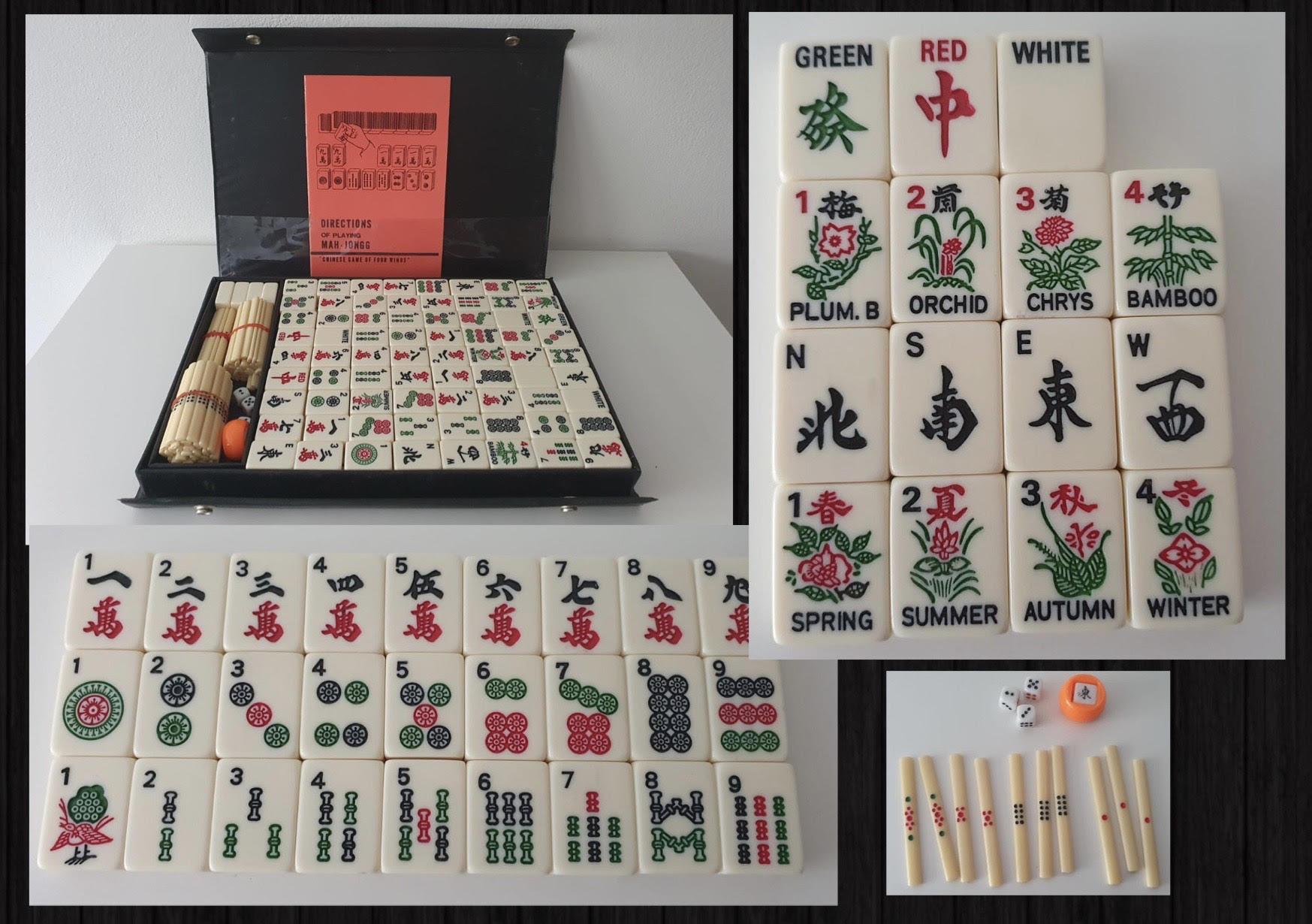 Mahjong - 3000 let stará čínská hra