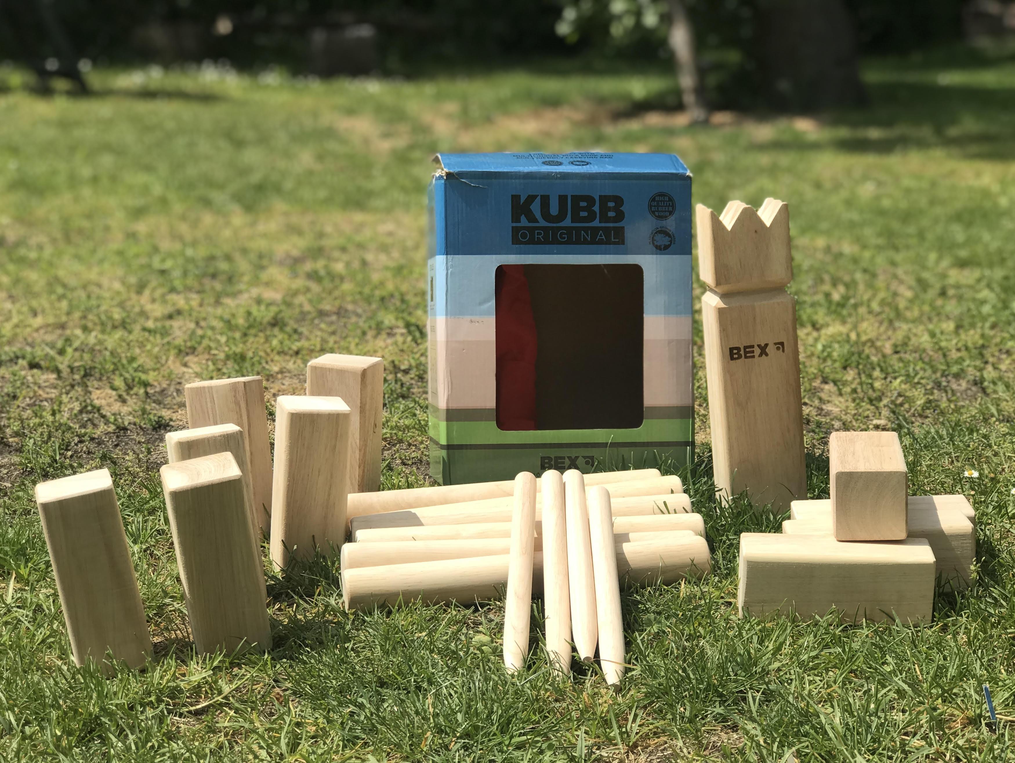 Kubb - vikingské šachy (skvělá venkovní hra)