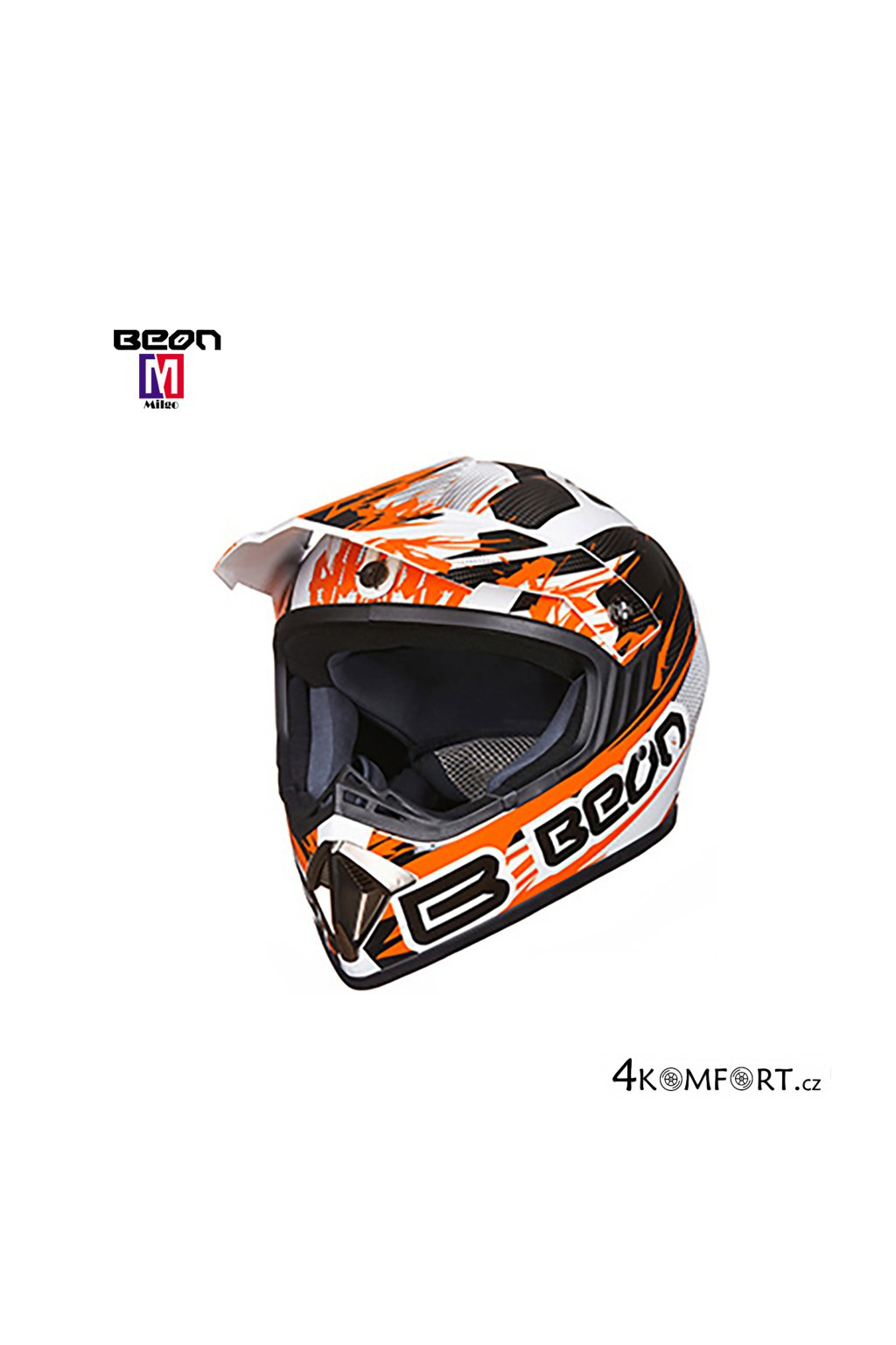 2019 BEON ECE Approved Motocross Helmet ABS (1)