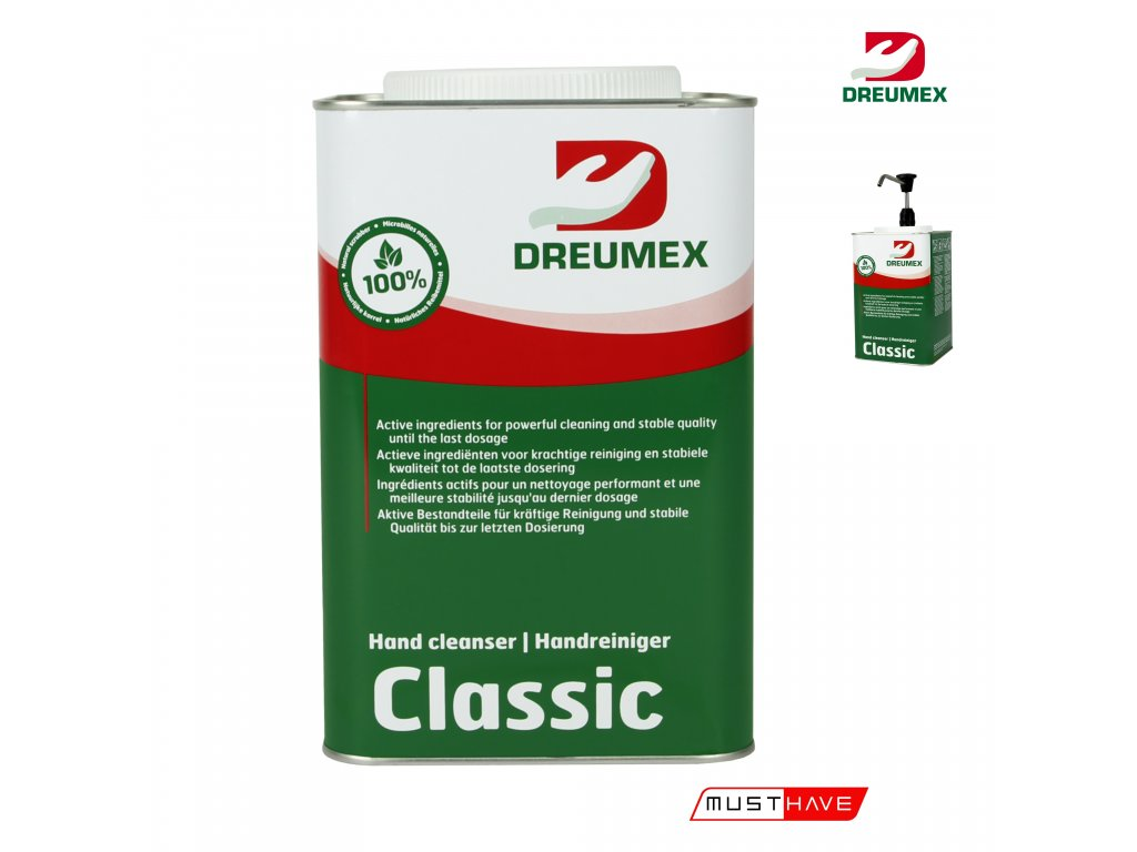 dreumex classics 4,5 l must have formyhands 4myhands 10942001012