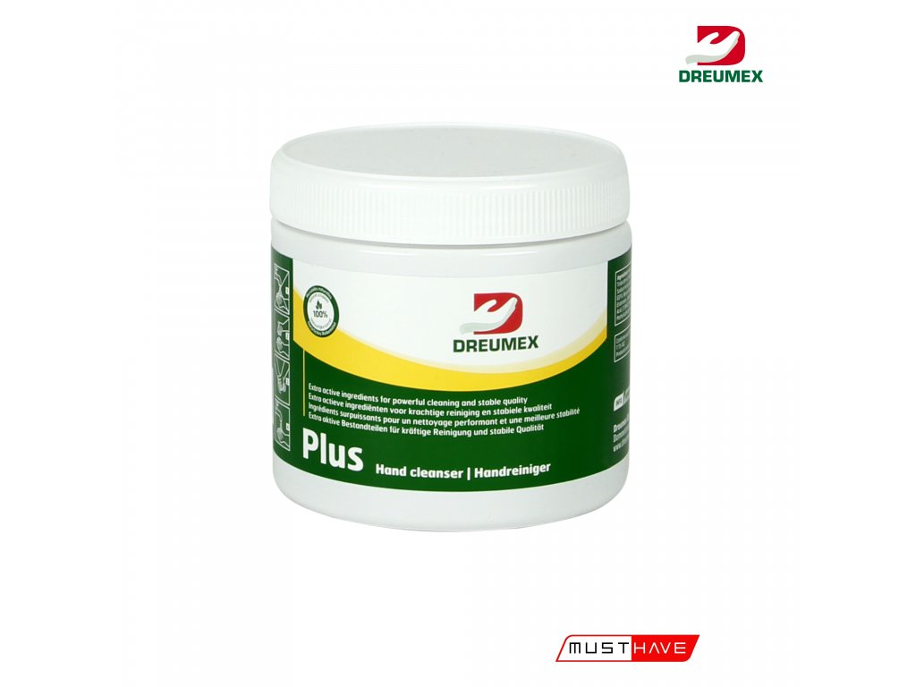 dreumex plus 600 ml must have formyhands 4myhands 10106001004