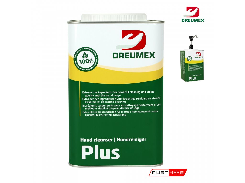 dreumex plus 4,5 l must have formyhands 4myhands 10142001026