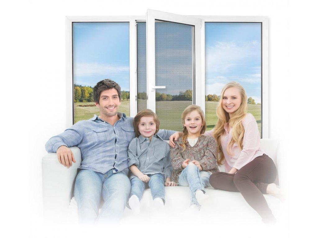 Okenní síť RESPILON® Window Membrane 5.0 90 x 150 cm