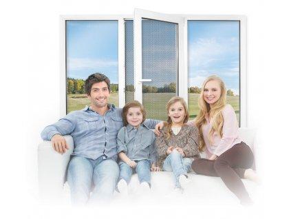 Okenní síť RESPILON® Window Membrane 5.0 130 x 150 cm
