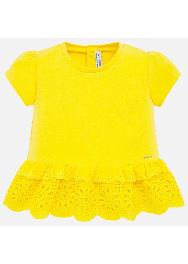 Tričko s volánkem, Yellow