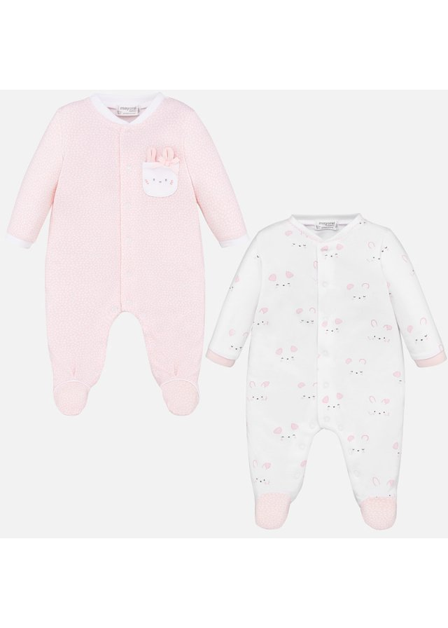 Overal set 2 kusy, Baby Rose