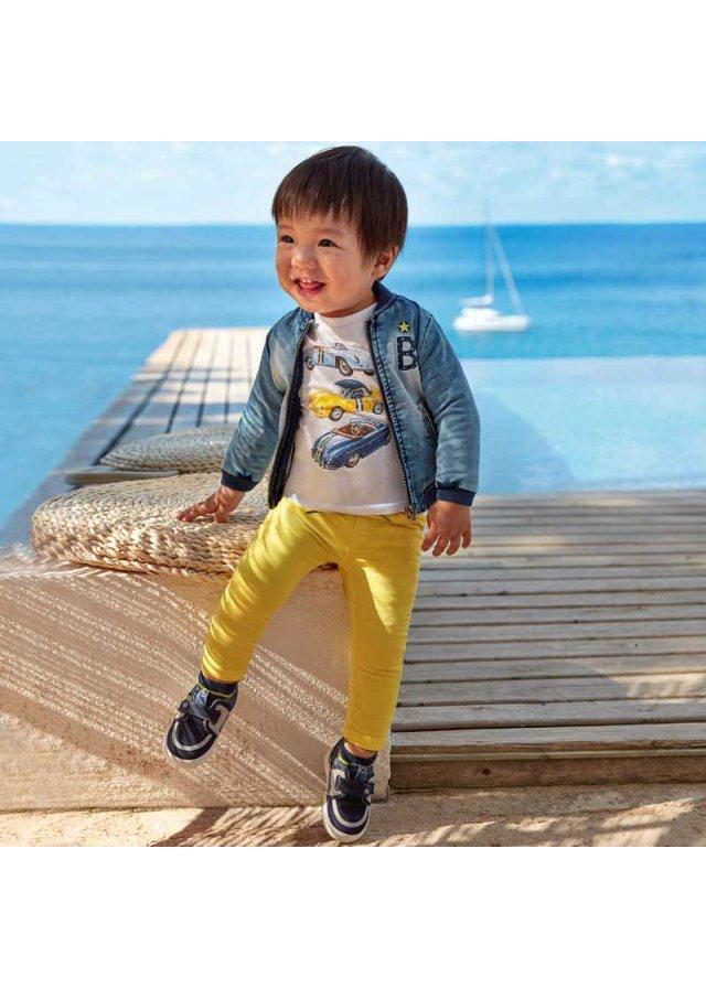 Kalhoty joggers, Yellow