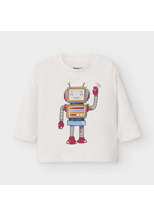 Tričko s robotem, Cream