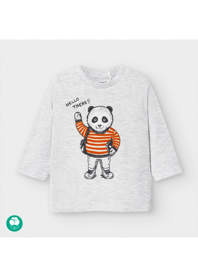 Tričko s pandou, Gray