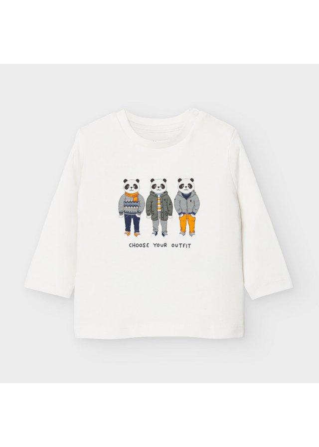 Tričko s dlouhým rukávem, Cream