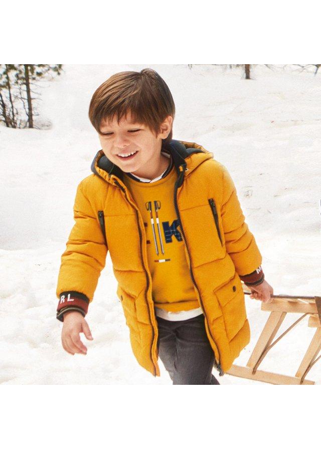 Zimní prošívaný kabát, Wheat