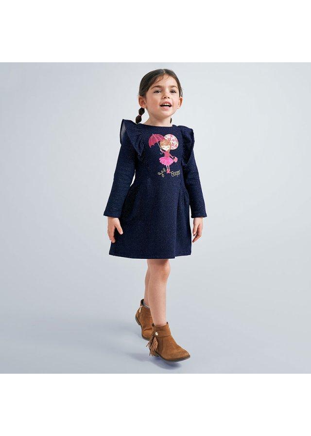 Šaty s holčičkou, Navy