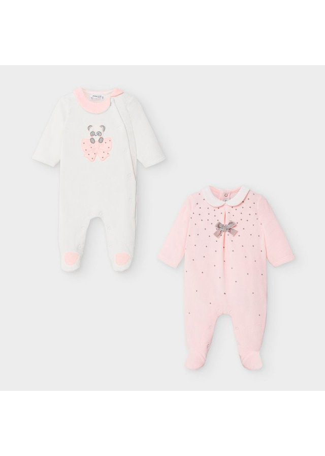 Set overal 2 kusy, Baby Rose