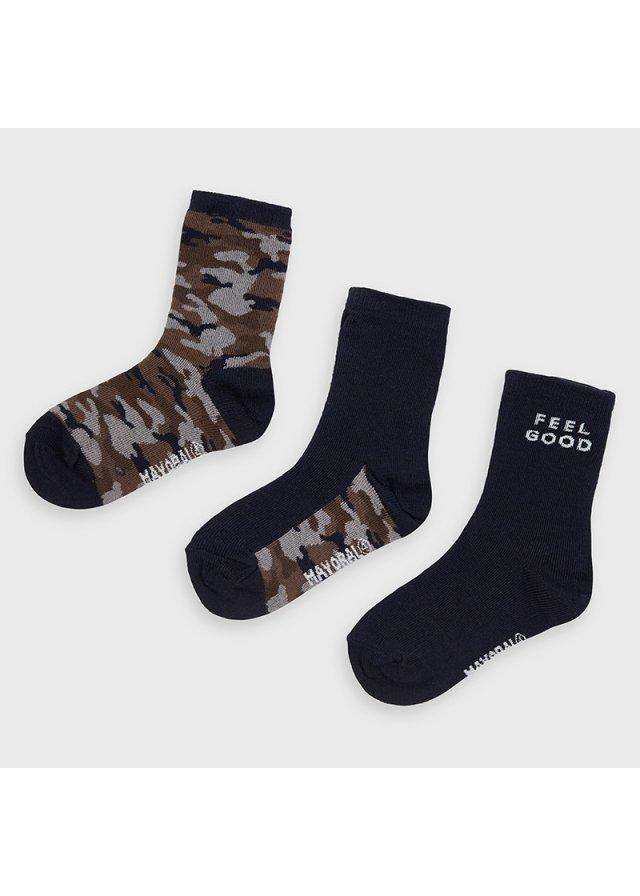 Ponožky set 3 kusy, Navy