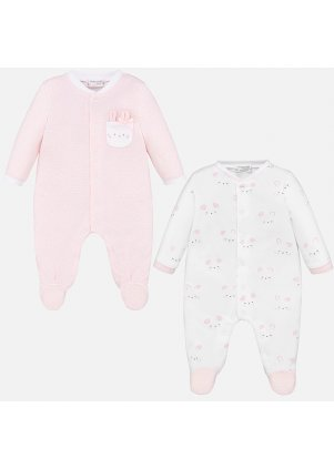 Overal set 2 kusy (Barva Baby Rose, Velikost 06.IX)