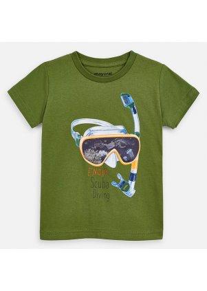 Tričko s motivem potapěčských brýlí