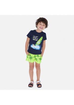 Koupací šortky s palmami, Neon acid