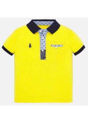 Polo s krátkým rukávem, Yellow