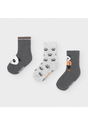 Ponožky s pandou set 3 kusy, Brg Cement
