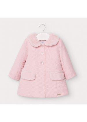 Zimní kabátek s kožešinkovým límečkem, Rose