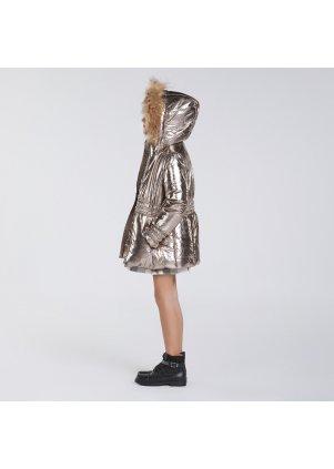 Metalický zimní kabát, Old Gold