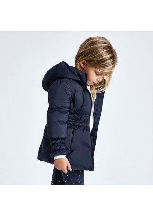 Zimní bunda s kapucí, Navy