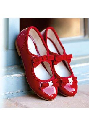 Lakované balerínky, Red