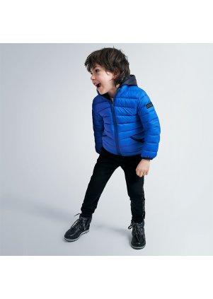 Přechodová bunda s kapucí, Azul pop