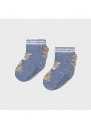 Ponožky se zvířátky, Light blue