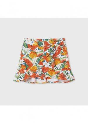 Viskózová kalhotová sukně, Poppy