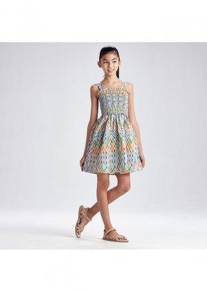 Vzorované šaty, Lemon