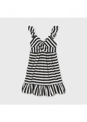 Pruhované šaty, Black