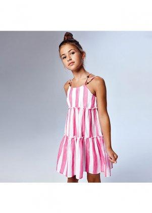 Pruhované šaty, Camellia