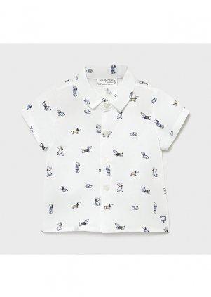Košile s krátkým rukávem, Printed