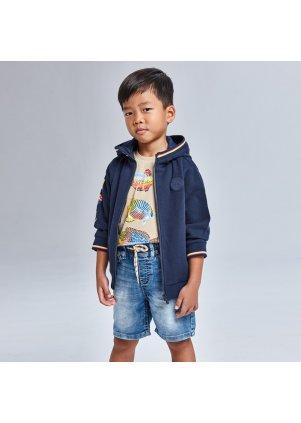 Měkké džínové šortky v pase do gumy