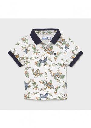 Vzorované polo tričko, Printed