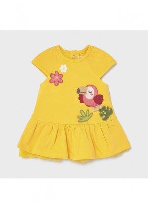 Bavlněné šatičky, Yellow