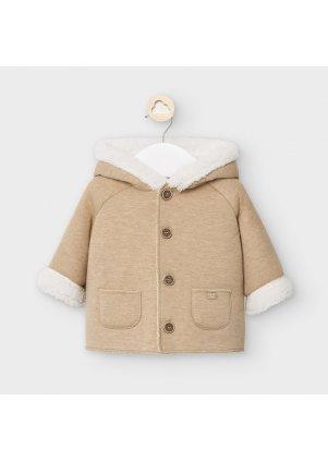 Kabátek s kožíškem, Hazelnut