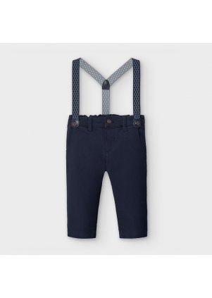 Kalhoty chino (Barva Navy, Velikost 12)