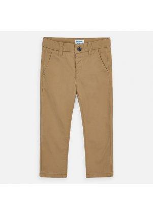 Kalhoty chino slim fit, Beech