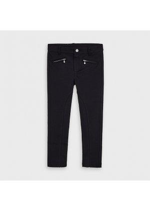 Kalhoty s kapsami na zip, Black