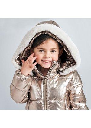 Metalický zimní kabátek, Old Gold