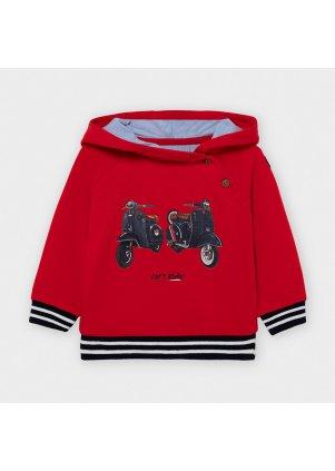 Mikina s kapucí, Red