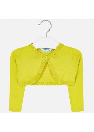 Pletený kardigan, Yellow